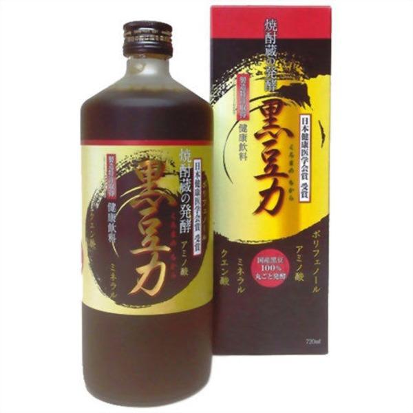 堤酒造 焼酎蔵の発酵 黒豆力 プレミアム発酵 黒大豆搾り 720ml   1 本