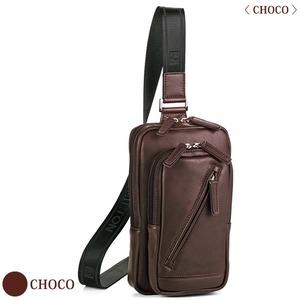 豊岡の鞄 ホースレザー 馬革 16375 チョコ