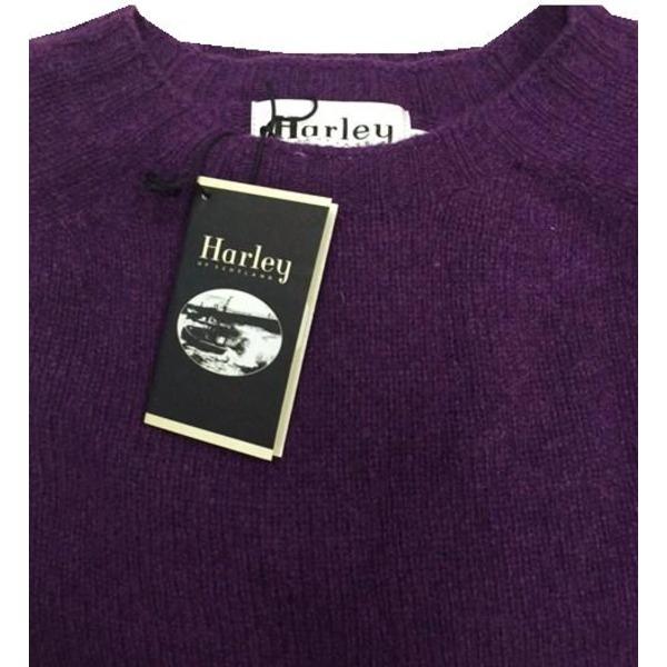 英国製 ハーレーオブスコットランド シェットランドセーター正規輸入品 IRIS 38f00
