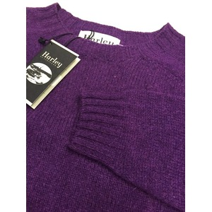 英国製 ハーレーオブスコットランド シェットランドセーター正規輸入品 IRIS 42 h03