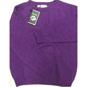 英国製 ハーレーオブスコットランド シェットランドセーター正規輸入品 IRIS 42 f04