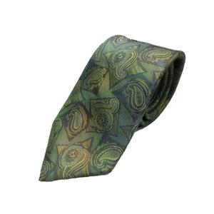 希少生地使用 グランネクタイ Clarkプレミアム 手縫い仕立て 西陣ネクタイ ほぐし染め抹茶