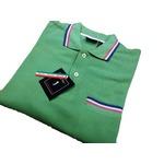 イタリア製半袖ポロ GREAT BAY グリーン Lサイズ