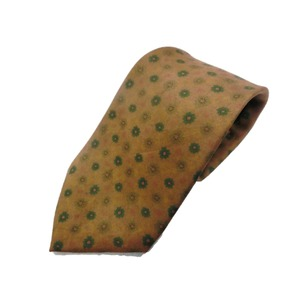 希少限定生地 シルクネクタイ Clarkプレミアム 手縫い仕立て 西陣ネクタイ クラシック小紋 h01