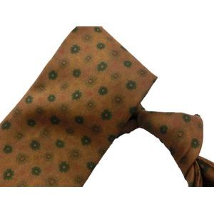 希少限定生地 シルクネクタイ Clarkプレミアム 手縫い仕立て 西陣ネクタイ クラシック小紋 h03