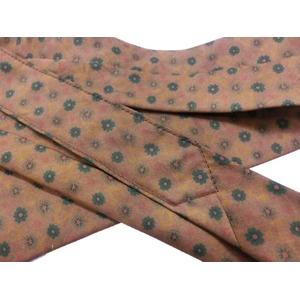 希少限定生地 シルクネクタイ Clarkプレミアム 手縫い仕立て 西陣ネクタイ クラシック小紋 f04
