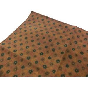 希少限定生地 シルクハンカチーフ クラシック小紋 h01