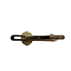 イタリア製 シェルカメオ タイピン ナイト  h02