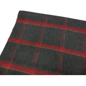 新作 英国製 Made in Scotland カシミヤ100%マフラー Shadow Windowpane