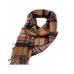 新作 英国製 Made in Scotland カシミヤ100%マフラー Large tartan2の画像