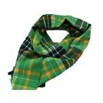 新作 英国製 Made in Scotland カシミヤ100%ストール Greenの画像