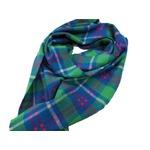 新作 英国製 Made in Scotland カシミヤ100%ストール Buffalo Checkの画像