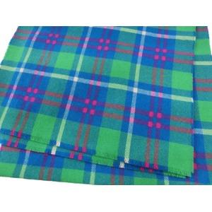 新作 英国製 Made in Scotland カシミヤ100%ストール Buffalo Check