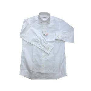 イタリア製コットンドレスシャツ ホワイトオックス XL