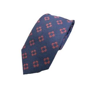 日本製シルク100%ネクタイ ネイビー