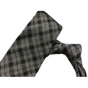 ネクタイ 日本製シルク100% チェック