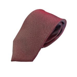 新作ネクタイ  日本製シルク100% レッド