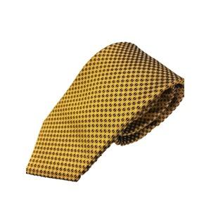 新作ネクタイ  日本製シルク100% ゴールド