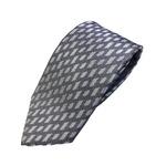 ネクタイ 大柄シリーズ 日本製シルク100% ブルー