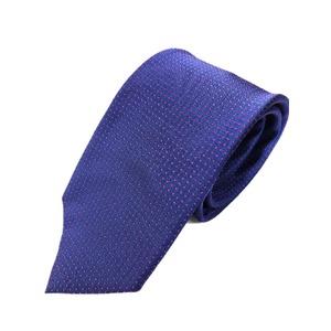 ネクタイ水玉シリーズ 日本製シルク100% ネイビー×パープル