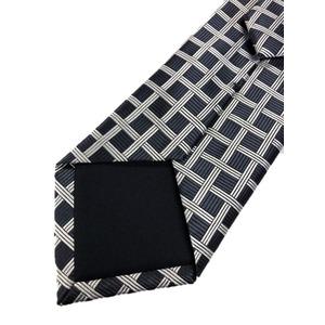ネクタイ 格子状チェックシリーズ 日本製シルク100% 格子