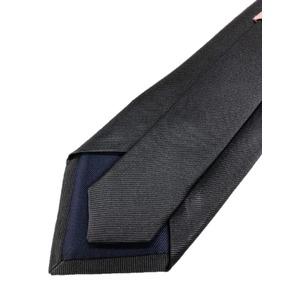 織り無地シリーズ 日本製シルク100% チャコールグレー