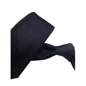 厳選ワンランク上のネクタイ 織柄シリーズ シルク100% ダークネイビー