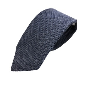 厳選ワンランク上のネクタイ 無地・織柄シリーズ シルク100% ネイビー(ウォッシャブル風使用)
