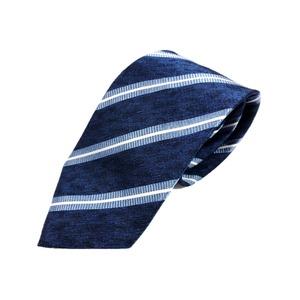 トラッドレジメンタルシリーズ シルク100% ブルー 大剣幅約8.0cm