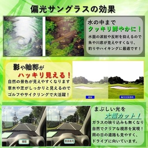 【調光偏光サングラス】 空気のように軽いエアリーフレーム ブラウンver 福井県鯖江産レンズ Transhade使用 ケース進呈