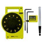 デジタル水盛器(高低差測定器) ホールド/計算機能付き キャリブレーション可 テクニディア ジップレベル プロ2000