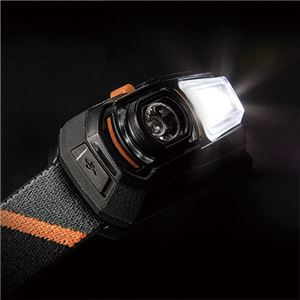 LEDヘッドライト 充電式 吊り下げ可 ブッシュネル 【日本正規品】 ルビコン125RG