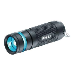 LEDフラッシュライト(懐中電灯) 防水/超軽量/コンパクト キーリング付き ワルサープロNL10