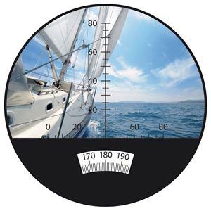 単眼鏡 【7倍】 シングルハンド コンパクト/軽量/完全防水 ミルスケール ミノックス 【日本正規品】 MD7×42C ホワイト(白)
