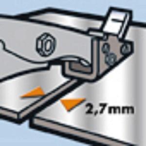 メタルカッター/作業工具 【スーパーコップNR3】 全長275mm 波板用ヘッド 〔プロ用 DIY 日曜大工 趣味〕