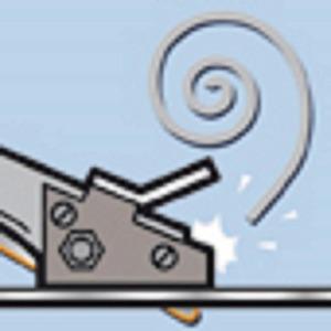メタルカッター/作業工具 【スーパーコップNR1】 全長275mm カールカッター一体型 〔プロ用 DIY 日曜大工 趣味〕