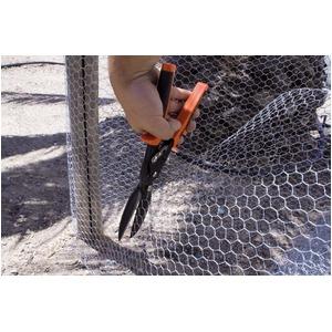 メタルカッター/作業工具 【フライヤーSL】 全長288mm 刃渡り75mm ロングカット型 〔プロ用 DIY 日曜大工 趣味〕