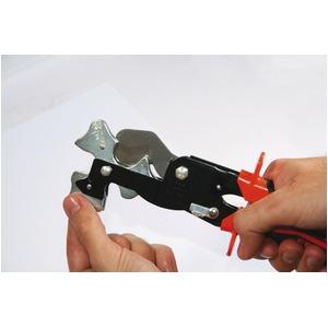 チューブカッター//作業工具 【3段ガイド】 全長255mm 自動ロック 『トリオコップ』