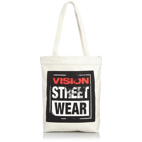VI SION STREET WEAR 綿キャンパス帆布トートバッグ V ST-803 アイボリーf00
