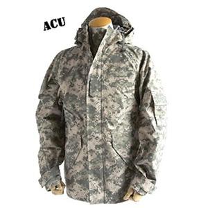 アメリカ軍 ECWC S-1ジャケット/ゴアテックス風パーカー 【 Mサイズ 】 透湿防水素材 JP041YN ACU カモ( 迷彩) 【 レプリカ 】