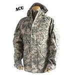 アメリカ軍 ECWC S-1ジャケット/ゴアテックス風パーカー 【 XLサイズ 】 透湿防水素材 JP041YN ACU カモ( 迷彩) 【 レプリカ 】