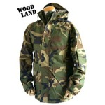アメリカ軍 ECWC S-1ジャケット/ゴアテックス風パーカー 【 XSサイズ 】 透湿防水素材 JP041YN ウッドランド カモ/迷彩 【 レプリカ 】