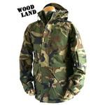 アメリカ軍 ECWC S-1ジャケット/ゴアテックス風パーカー 【 XLサイズ 】 透湿防水素材 JP041YN ウッドランド カモ/迷彩 【 レプリカ 】