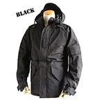 アメリカ軍 ECWC S-1ジャケット/ゴアテックス風パーカー 【 XSサイズ 】 透湿防水素材 JP041YN ブラック 【 レプリカ 】
