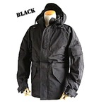 アメリカ軍 ECWC S-1ジャケット/ゴアテックス風パーカー 【 Mサイズ 】 透湿防水素材 JP041YN ブラック 【 レプリカ 】