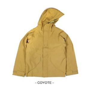 アメリカ軍 ECWC S-1ジャケット/ゴアテックス風パーカー 【 Mサイズ 】 透湿防水素材 JP041YN コヨーテ 【 レプリカ 】