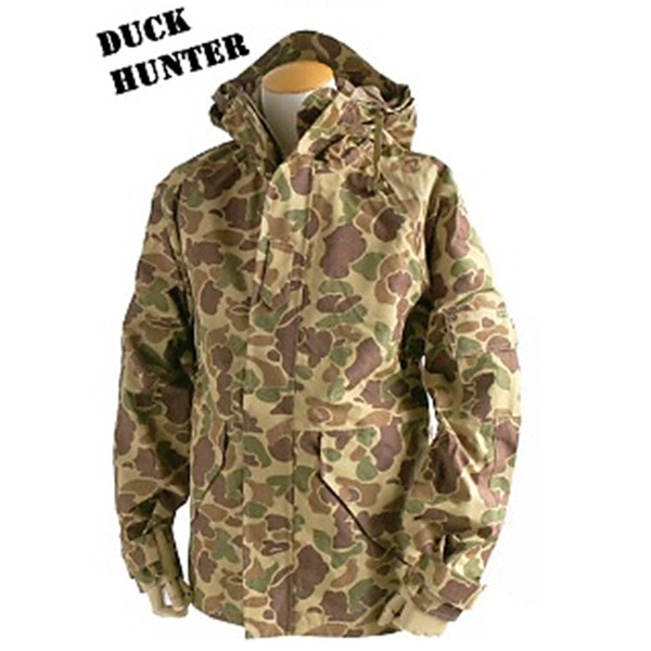 アメリカ軍 ECWC S-1ジャケット/ゴアテックス風パーカー  XSサイズ  透湿防水素材 JP041YN ダックハンター  レプリカ