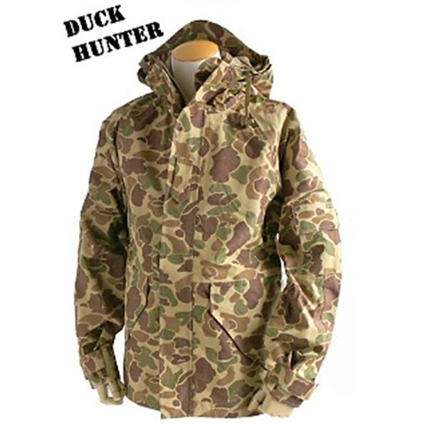 アメリカ軍 ECWC S-1ジャケット/ゴアテックス風パーカー  Lサイズ  透湿防水素材 JP041YN ダックハンター  レプリカ