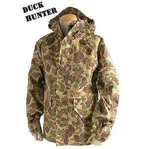 アメリカ軍 ECWC S-1ジャケット/ゴアテックス風パーカー 【 XLサイズ 】 透湿防水素材 JP041YN ダックハンター 【 レプリカ 】