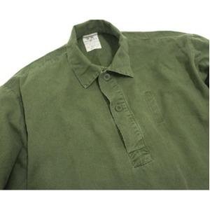 スウェーデン軍放出 M55シャツ J S027UN 41( L~ XL相当) 【中古】